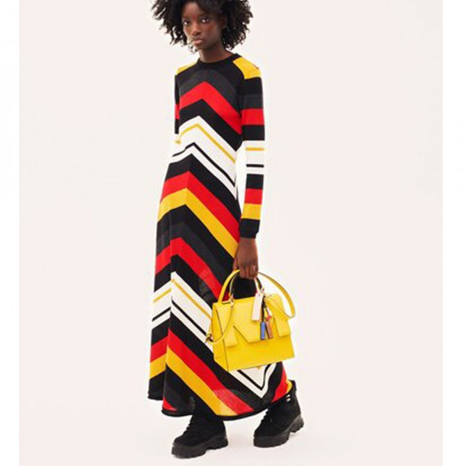 MSGM MILANO Multicolor Dress