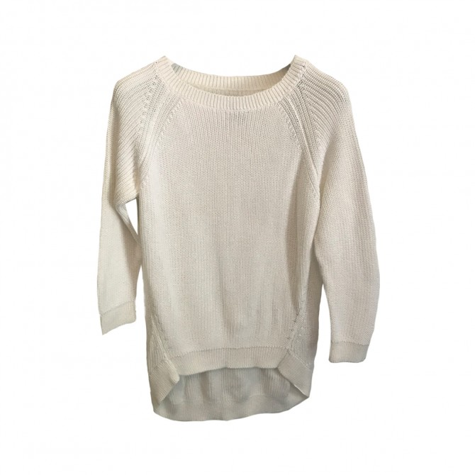Massimo Dutti White Sweater size M