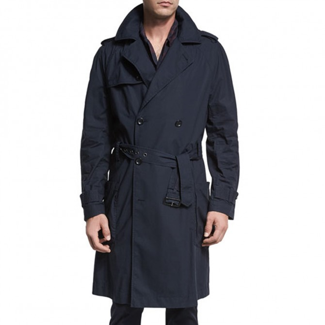Salvatore Ferragamo MEN trench coat