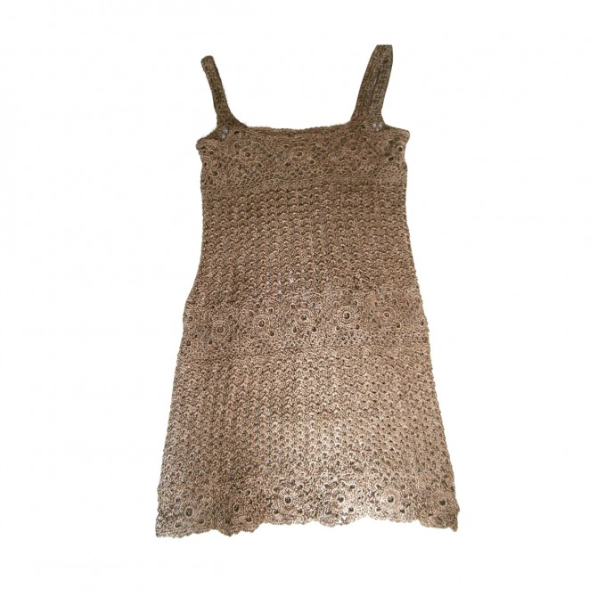 HAND MADE knitted dress ONE AND ONLY BRAND