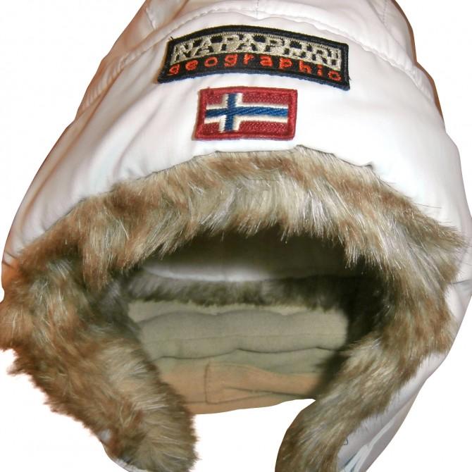 NAPAPIJRI fur hat for kids unisex
