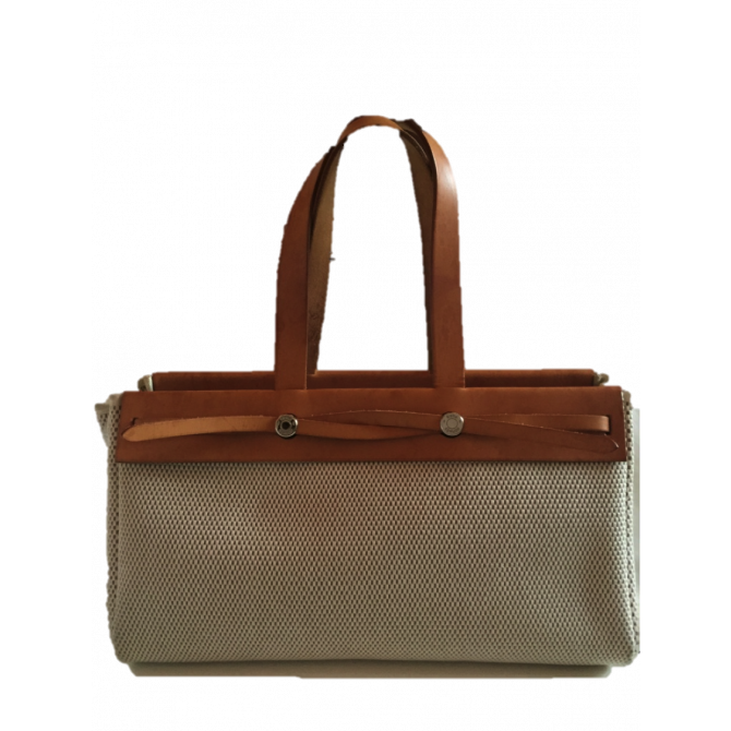 HERMES Herbag Cabas Bag 2 in 1