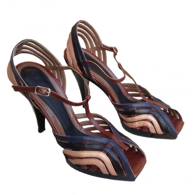 MARNI multicolor sandal heels