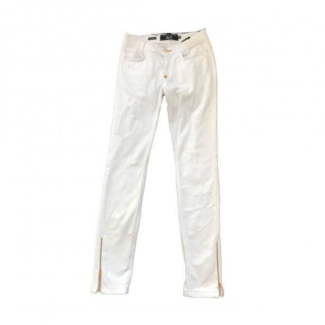 Phillip Plein white jeans size 26