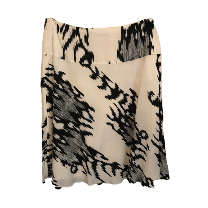 Caractere ecru black skirt