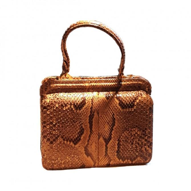 Vintage Python RealSkin Clutch/Handbag