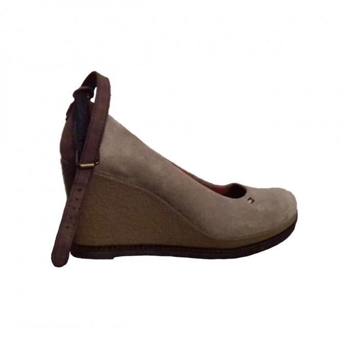 Tommy Hilfiger suede platforms shoes size IT 38