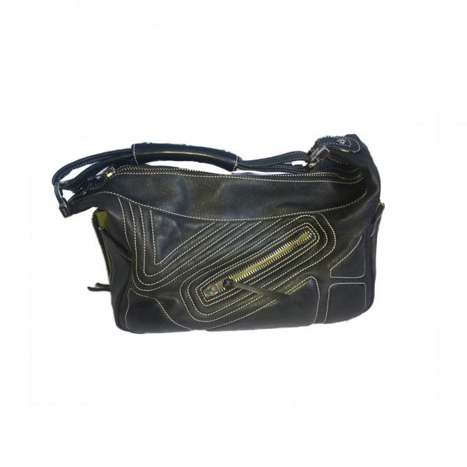 TODS black leather hobo bag