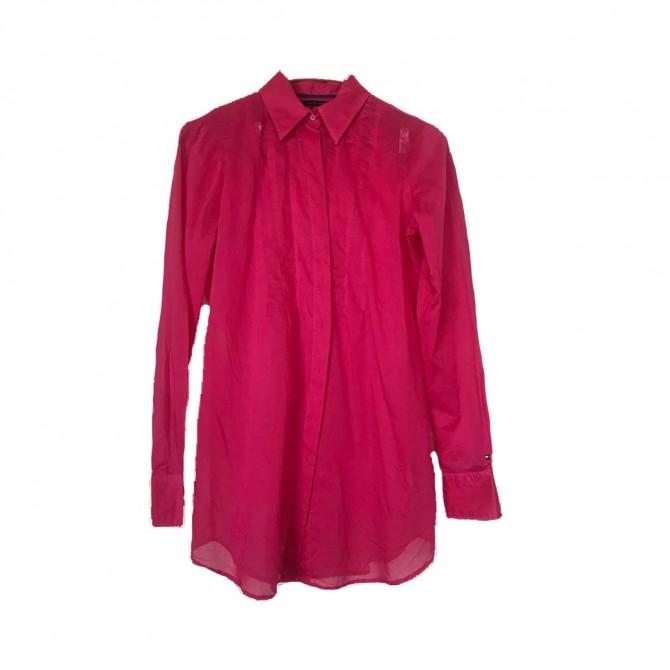 Tommy Hifliger fuchsia shirt