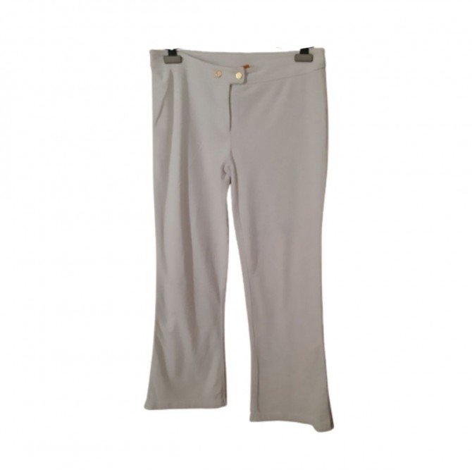 TORY BURCH terry cloth flared pants size S