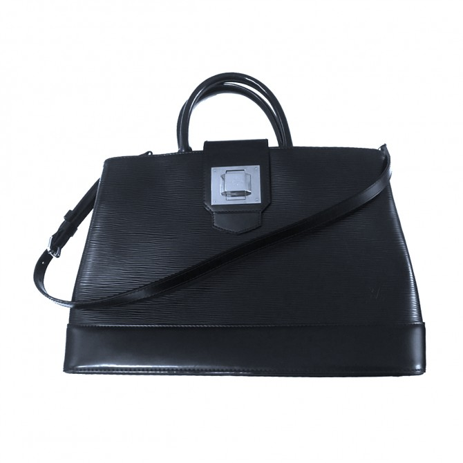 Louis Vuitton black epi