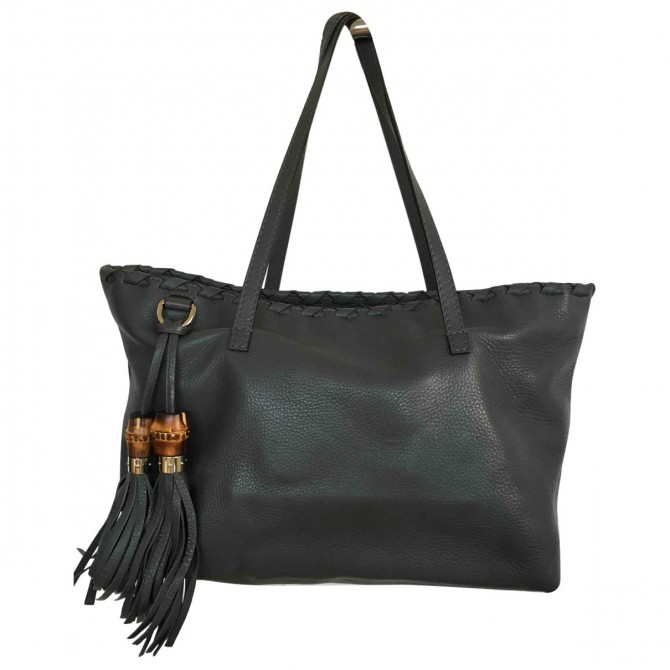 Gucci tote bag with tassel
