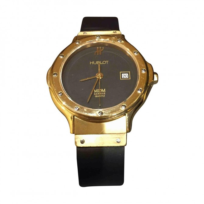 HUBLOT Swiss , gold ladies watch