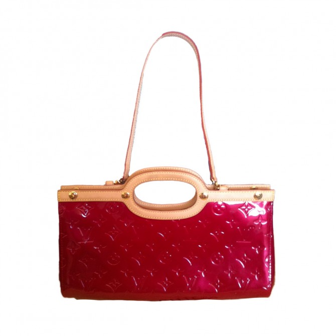 Louis Vuitton Roxbury Drive Vernis  Patent Leather Tote