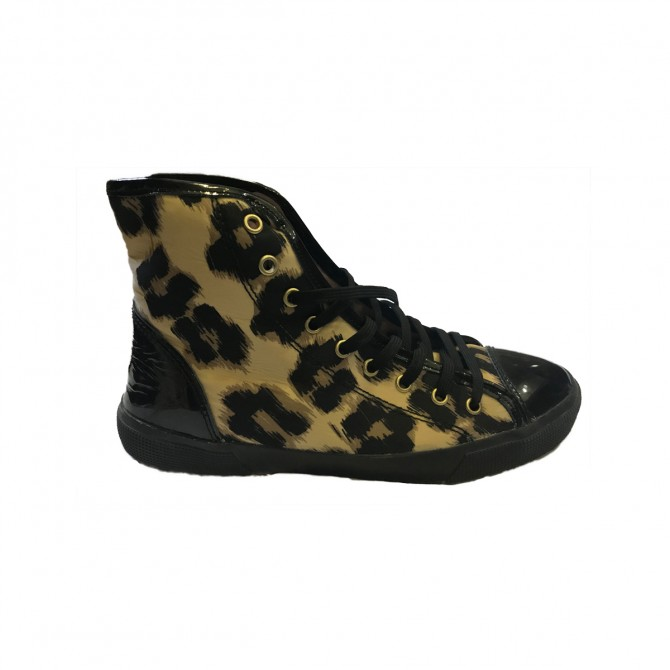 Red Valentino animal print sneakers size IT39