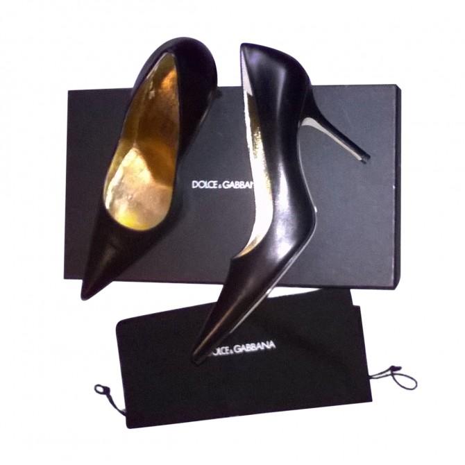 Dolce & Gabbana black heels