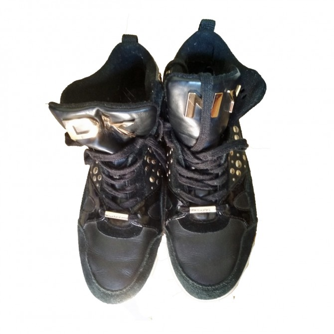 DKNY Black sneaker booties sizeUS 9.5 or EU 39,5