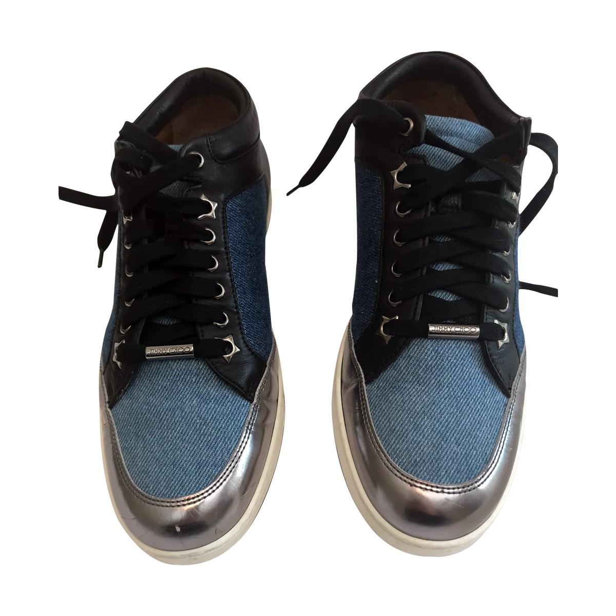 Jimmy Choo Jeans sneakers | My good closet
