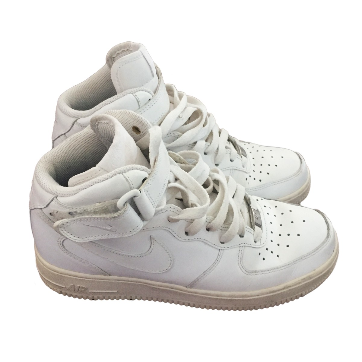 6abba23158d5c NIKE AIR FORCE white leather for ladies US 7 | My good closet