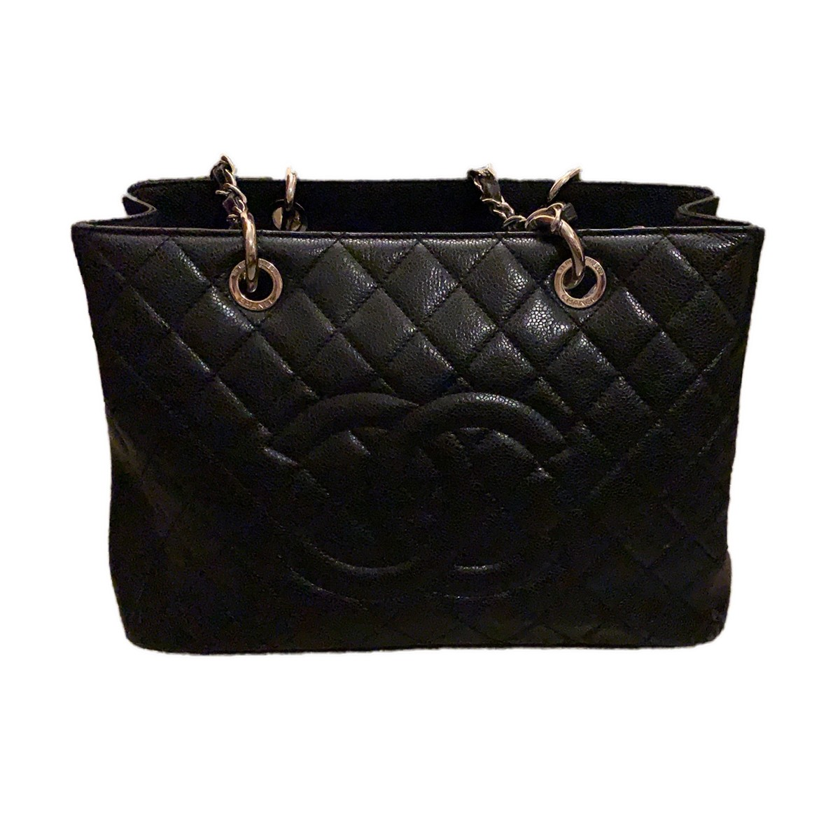 7731ed67dc9b CHANEL large shopping bag in caviar quilted leather