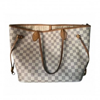 Louis Vuitton MM Damier Azur Neverfull Tote bag
