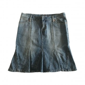 Seven Midi denim Skirt size 25