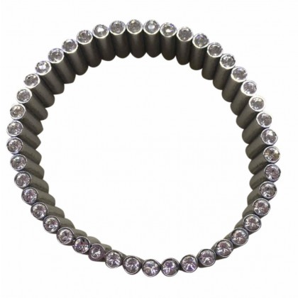 Swatch stainless stainless steel bracelet with zirconium