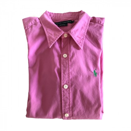 Ralph Lauren Shirt fuschia cotton US8