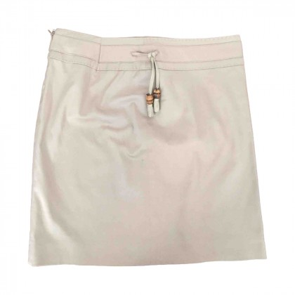 GUCCI bamboo detailed skirt size IT38
