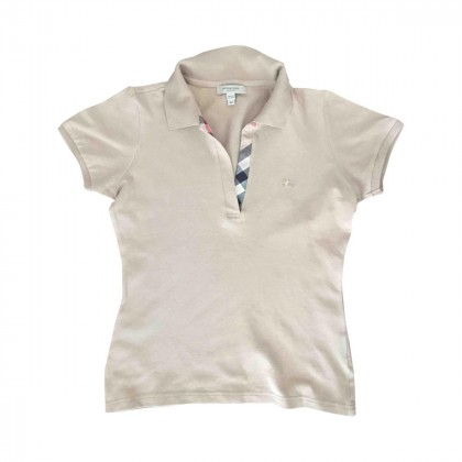 BURBERRY polo shirt size XS