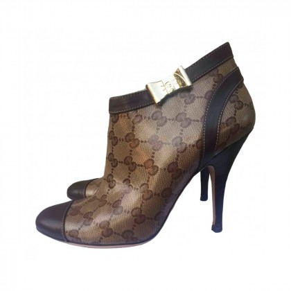 GUCCI ANKLE BOOTS SIZE IT 38 1/2