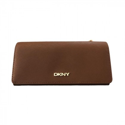 DKNY brown wallet brand new