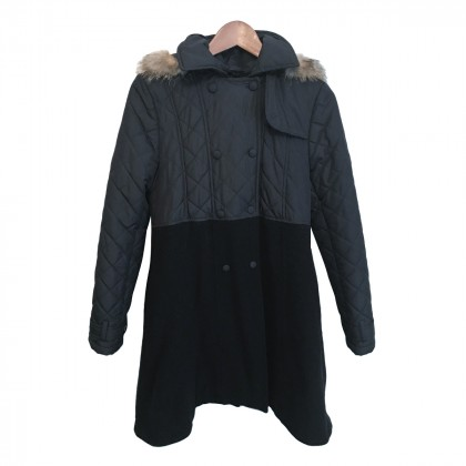 Lapin House Girls Black Coat