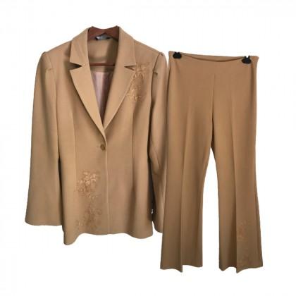 Polyxeni Kostetsou Beige Suit size FR42