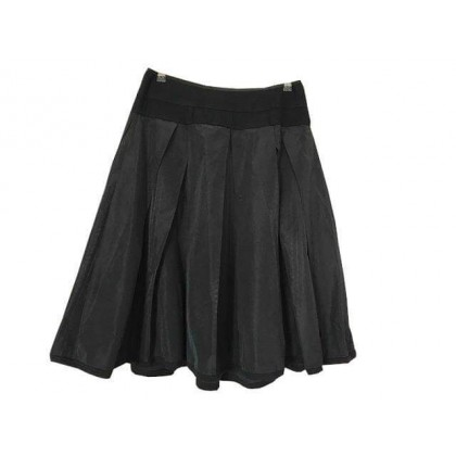 Donna Karan black knee length skirt size IT 46 or US10