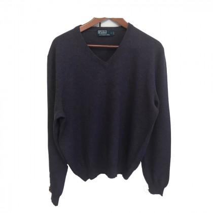 Polo Ralph Lauren purple mens sweater size L
