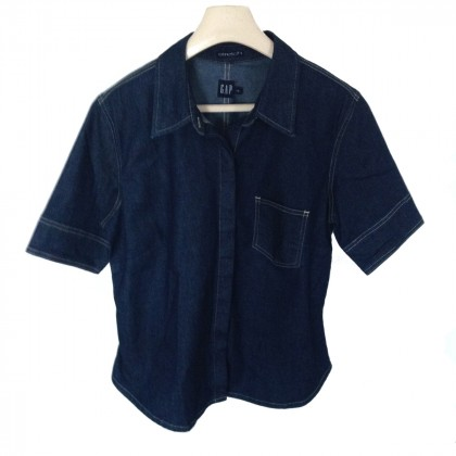 GAP dark blue denim shirt