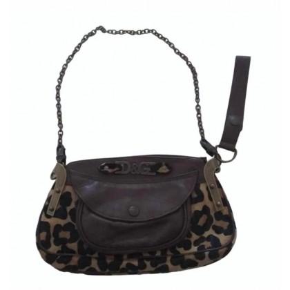Dolce & Gabbana pony hair calf skin handbag