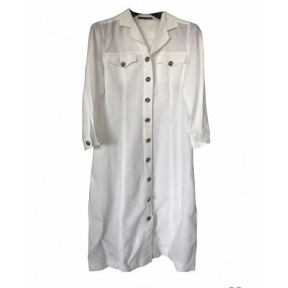 Max Mara weekend white linen dress