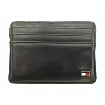 Tommy Hifliger black leather wallet