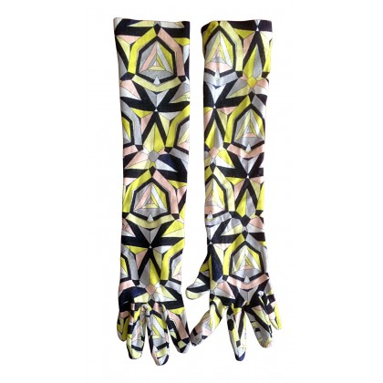 EMILIO PUCCI knitted gloves.