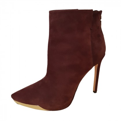 NEW Rachel Roy Burgundy ankle boots