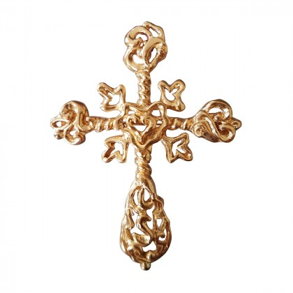 Christian Lacroix pendant and brooch