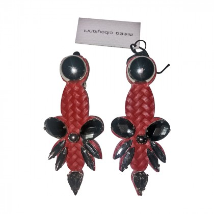 Earrings handmade by Mimica Ciboyianni