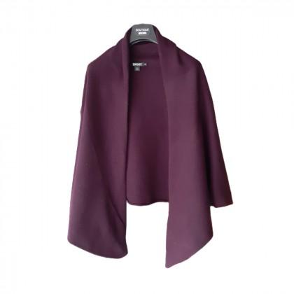 DKNY wool purple cardigan size M-L