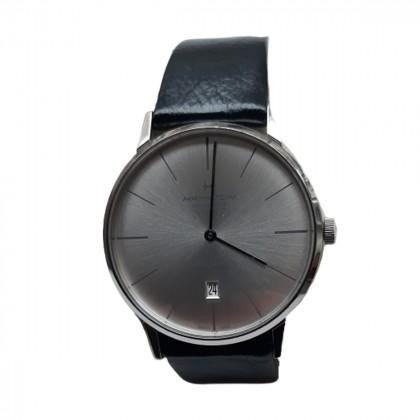 HAMILTON Intra-Matic Black Leather Strap watch