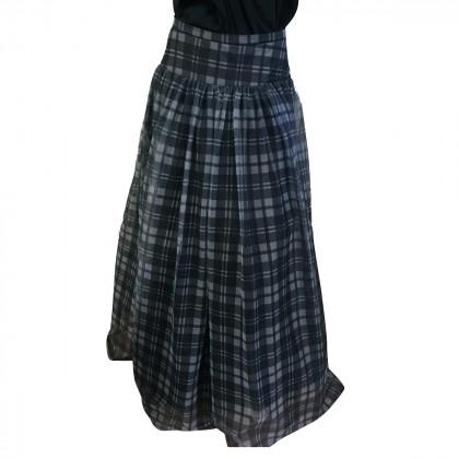 Haute Hippie Plaid Maxi skirt