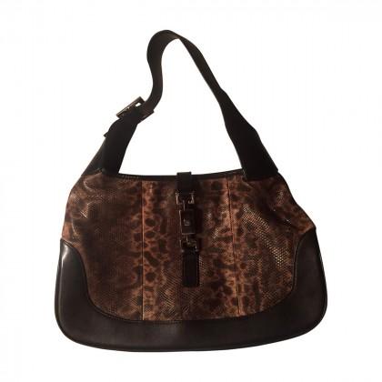 GUCCI lizard handbag