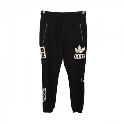 Adidas Black Trousers size IT40