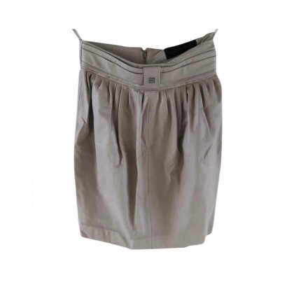 Elisabetta Franchi leather mini skirt size 42